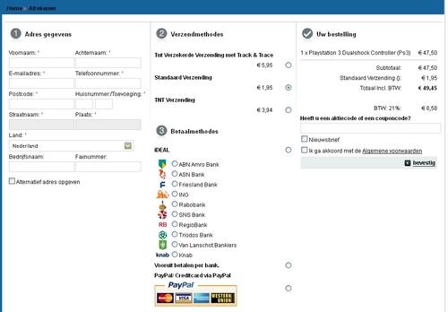 One Step Checkout Smartgamer.nl