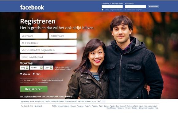 Facebook kijkrichting